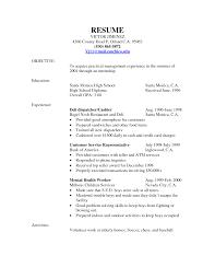 Customer Service Clerk Sample Resume Templates Customer Servicerk Sample Job Description Deli Fungram Co 23
