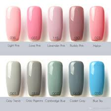 Wholesale Popular in the World 80 Colors Sapphire Nail Gel Nail ...