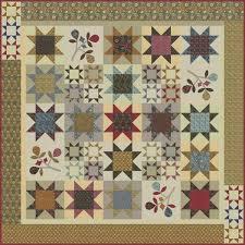 Moda Fabrics Barbara Brackman William Morris Earthly Paradise ... & Moda Fabrics Barbara Brackman William Morris Earthly Paradise Quilt Pattern  75 x 75 Adamdwight.com