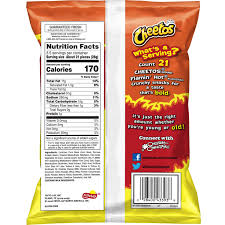 cheetos crunchy flamin hot cheese flavored snacks 3 5 oz bag walmart