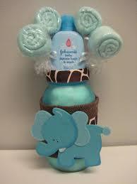 Decorating With Mason Jars For Baby Shower Baby Shower Elephant Mason Jar Safari Centerpiece Washcloth 30