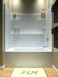 replace bathtub with shower removing bathroom shower stall replace tub with shower stall tub and shower one piece another diamond option with more shelf