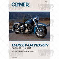 1948 1965 harley davidson panhead manual manuals motorcycle