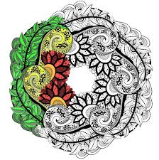 Small Picture Mandalas Coloring pages for adults JustColor