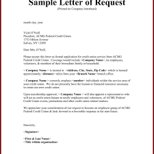 Best Letter Of Request Format Letter Format Writing