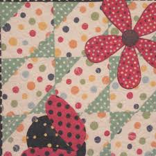 Pat's complete ladybug quilts – Ivory Spring & Quilt #2: Adamdwight.com