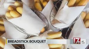 need a valentine s day gift for your sweetheart try olive garden s breadstick bouquet