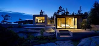 Shift Cottage Luxury Lake House Design From Superkul In Canada