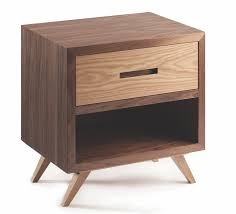 Space 1-Drawer <b>Bedside Table</b> - <b>Multiple</b> Colours/Finishes | SHOP ...