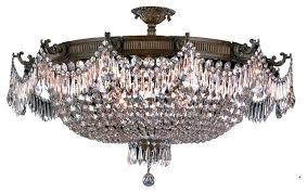 crystal basket chandelier sydney chrome ceiling light medium and round flush crystal basket chandeliers mansion size bronze and chandelier for