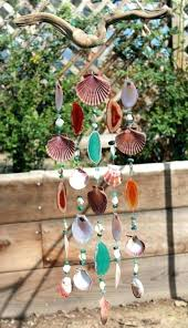 contact a ping cart i beach wind chimes sea glass