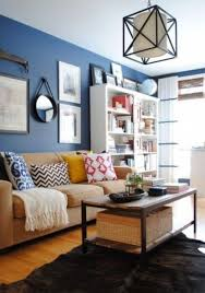 beige furniture. brown and beige furniture a bold blue accent wall for an eyecatchy look r