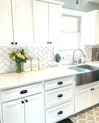 Kitchen With Glass Tile Backsplash Enchanting White Glass Backsplash Kitchen Lsonline
