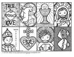 13,000+ vectors, stock photos & psd files. Our Lady Of The Rosary Coloring Page Immaculate Heart Coloring Pages