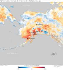 Southeast Alaska Chart High Temperatures Smash All Time Records In Alaska In Early