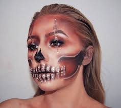 diamond skull y skeleton makeup ideas you should wear this