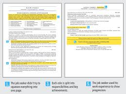 Resume Template Sample Two Page Example Samples For One Examples