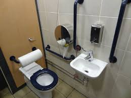 Accessible Toilet Wikipedia - Ada accessible bathroom