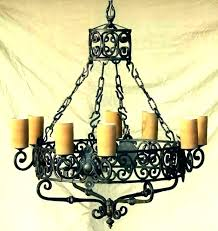 candle chandelier non electric chandeliers outdoor votive cha