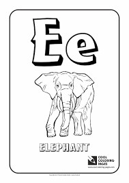 Small Picture Letter E Coloring Alphabet Cool Coloring Pages