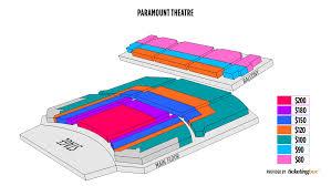 Seating Chart Paramount Theater Aurora Il