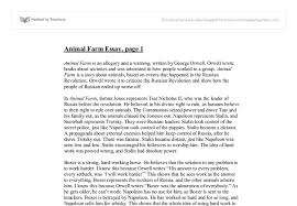 essays on animal farm propaganda essay about propaganda and euphemisms in the animal farm