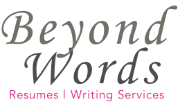 Las Vegas Resume Services Beyond Words Resume And Other Writing