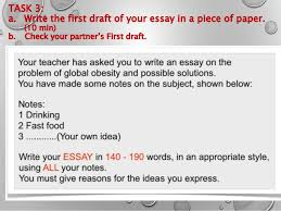 fce writing paper ppt all papers a funny person article 21