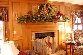 36 Ways To Decorate The Christmas Fireplace Mantel  Hello LovelyChristmas Fireplace Mantel