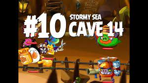 Angry Birds Epic Cave 14 Final Boss - Level 10 Stormy Sea - 3 Star  Walkthrough - YouTube