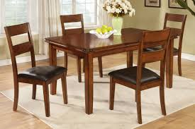 Country Style Kitchen Table Set Oak Finish Country Style Dining Table By Poundex F2192