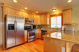 This kitchen cabinet has some warm tones and rich look. Maple Vs Oak Cherry And Birch Cabinets