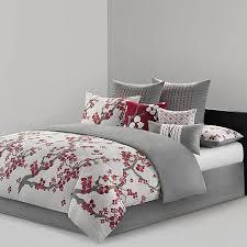 california king bed set. N Natori Cherry Blossom Cal King Comforter Set California Bed G