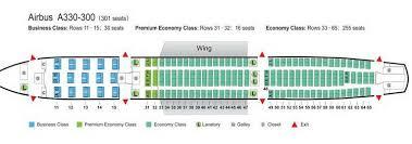 Air China Airlines Airbus A330 300 Aircraft Seating Chart