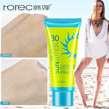 <b>ROREC Face Sunscreen Cream</b> Protetor Solar Facial Cream Sun ...