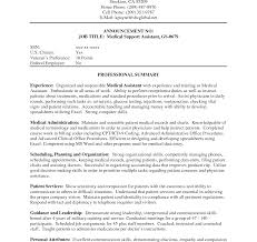 Cover Letters For Medical Assistant Resumes Recommendation Letter