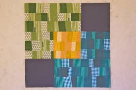 100 Days – Week of Improv – Overlapping Squares Block Tutorial ... & Finished ... Adamdwight.com