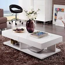 verona storage coffee table in high
