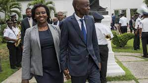 Haiti: The president's widow describes ...