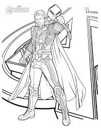 Avengers Coloring Sheets Avenger Coloring Page Avenger Coloring Page