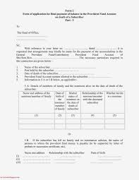 Revision Of Forms Under The General Provident Fund Central