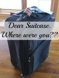 Dear Suitcase Where Did You Go The Story Of My Lost Suitcase