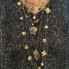 lessons in layering from our wonderful patrice moor pippasmall pippasmalljewellery howtowearit lessonsinlayering