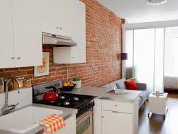 kitchen awesome brick kitchen wall design ideas orange tile pattern kitchen backgrounds white gloss wood kitchen