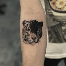 Tiger And Panther Tattoo Yin Yang Tattoo Ideas Yin Yang