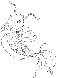 Small Picture Koi Fish Painting Coloring Pages Koi Fish Painting Coloring Pages