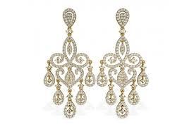 chandelier diamond wedding earrings