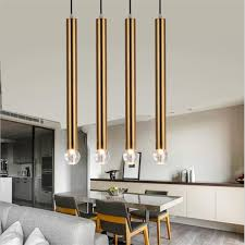 drop lighting. modern crystal aluminum pipe led e14 pendant light drop lighting for dining room living bedroom