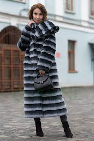 outer clothing handmade livemaster handmade warm under the fur coat tissavel chinchilla