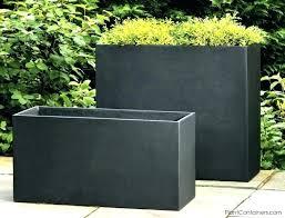 tall rectangular planter contemporary outdoor pots and planters contemporary garden potodern outdoor planters wooden garden boat planters uk